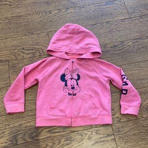 Gap Minnie Mouse hoodie - 3 years old
